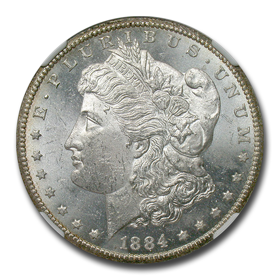 1884-CC Morgan Dollar MS-62 PL Proof Like NGC